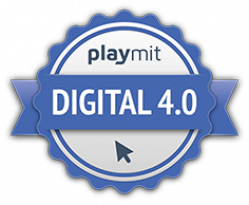 Digital 4.0 Sek II Urkunde Logo
