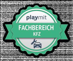 Fachbereich Kfz Urkunde Logo