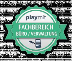 Fachbereich Büro/Verwaltung Urkunde Logo