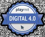 Digital 4.0 Sek I Urkunde Logo