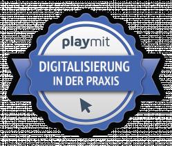 Digital 4.0 in der Praxis (3/5) Urkunde Logo