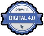 Urkunde Digital 4.0 Sekundarstufe I Logo